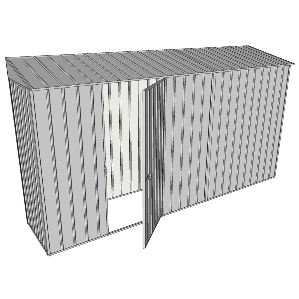 Garden shed 0 8 x 3 7 single hinged side door for Garden shed 7 x 3