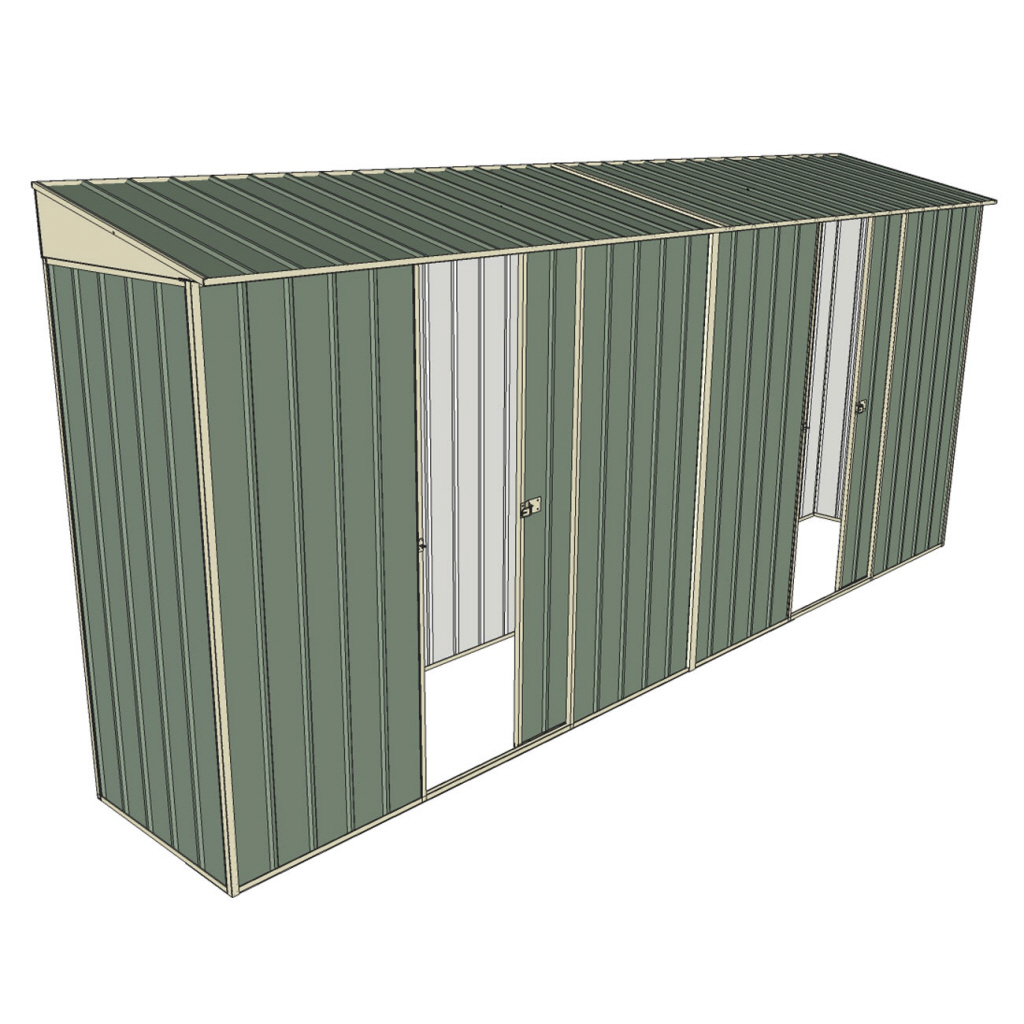 Garden shed 0 8 x 4 5 dual single sliding side doors for Garden shed 5 x 4